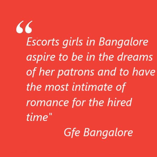 Escorts girls in Bangalore