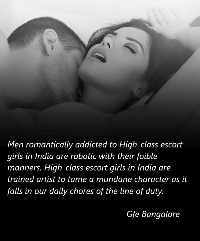 High-class escort girls in India