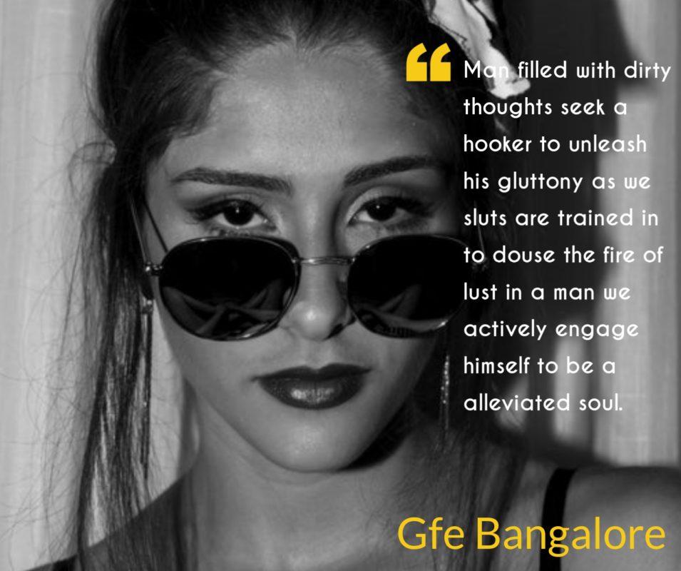 Dirty mind Bangalore escorts